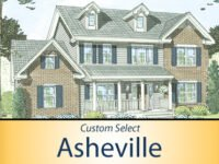 Asheville II - 2445 SF - 4 Bed/2.5 Bath
