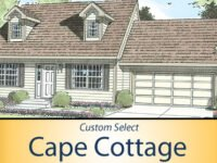 Cape Cottage A - 767 SF - 1 Bed/1 Bath